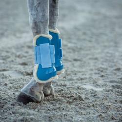 Ногавки передние с иск. мехом Horze CALIBER