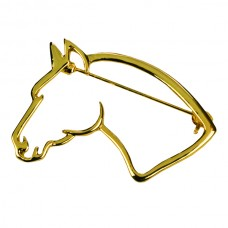 Брошь с головой лошади Happy Ross