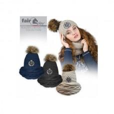 Комплект шапка+шарф Fair Play FLOPSI