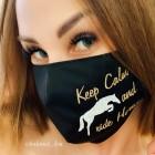 Маска для лица защитная H&D Care Keep Calm