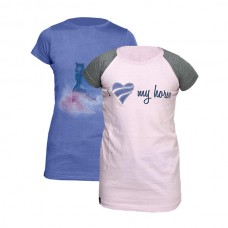 Набор из двух футболок Horze SARA