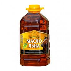 """Масло льняное """"В коня корм"""", 3 литра"""