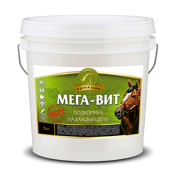 "Мега-Вит ""В коня корм"", 3 кг"