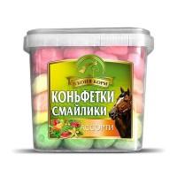 """Коньфетки-смайлики ассорти """"В коня корм"""", 1 кг"""