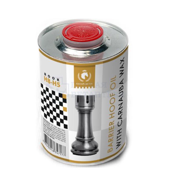 Барьерное масло для копыт с карнаубским воском ChessPlaid Co., 1 литр
