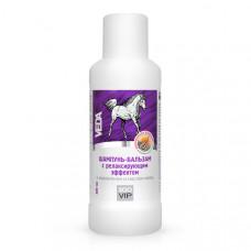 Шампунь-бальзам с релаксирующим эффектом с коллагеном и маслом мяты ZooVip, 500 мл